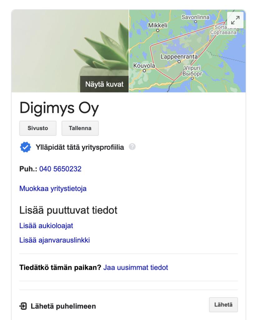 Digimys Google
